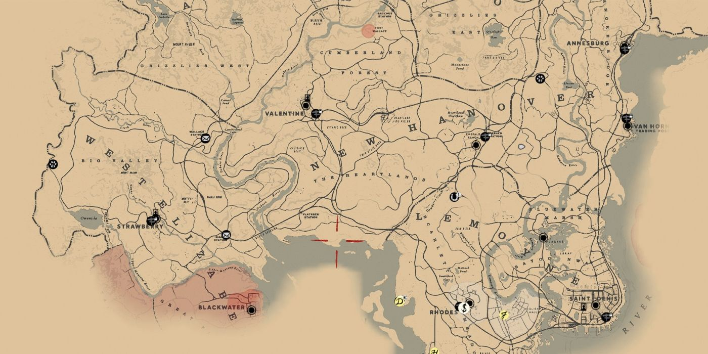 Comparing Skyrim S Map Size To Red Dead Redemption 2 Game Rant