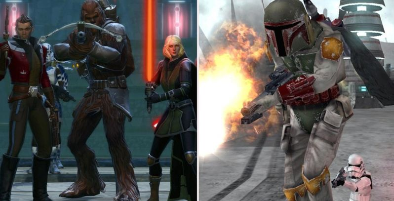 The 10 Best Video Games Based In The Star Wars Universe