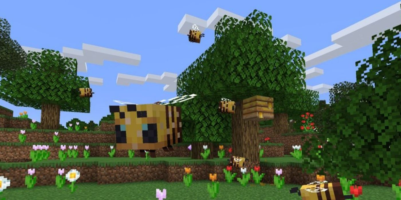 Minecraft Update Adds Adorable Bees | Game Rant