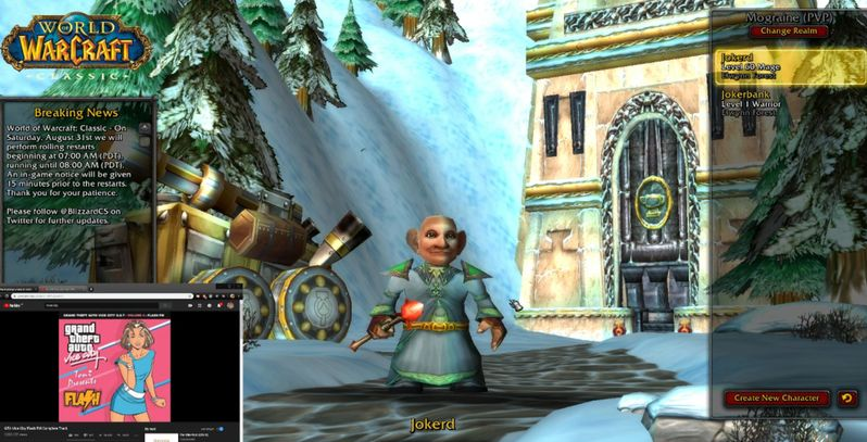 World of Warcraft Classic World First Level 60 Attained