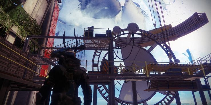 Destiny 2: What is Ikora Building in the Tower? | Game Rant