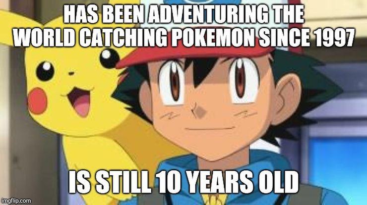 Pokemon 10 Hilarious Ash Ketchum Memes Only True Fans Understand