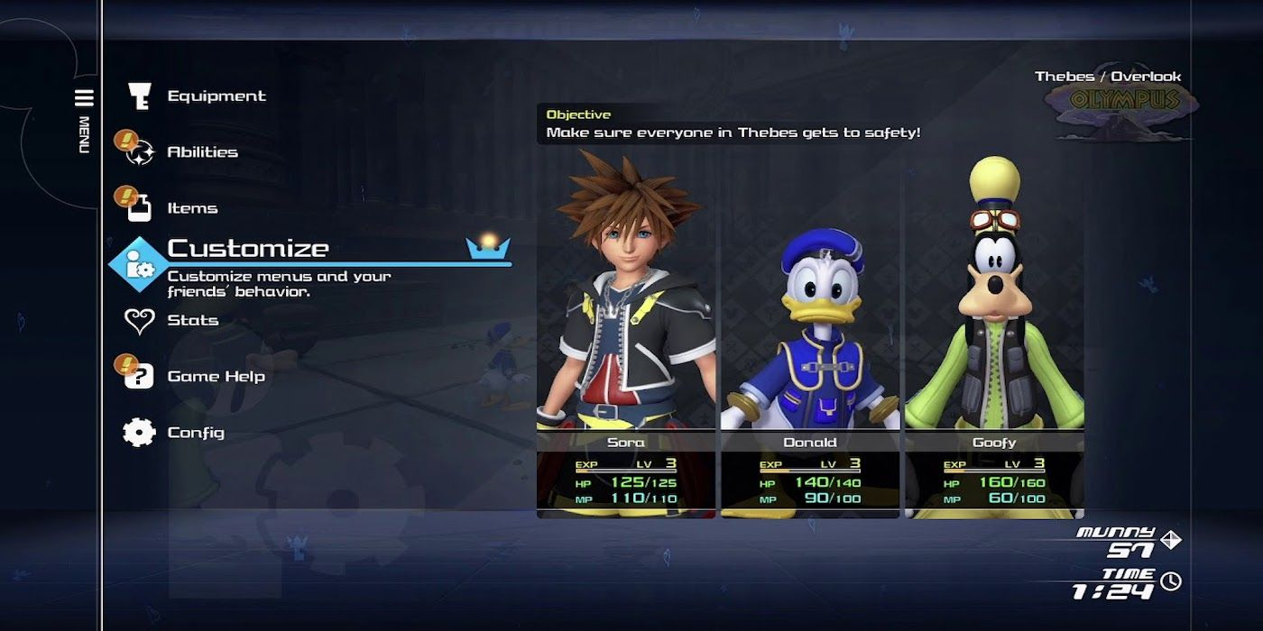 How Kingdom Hearts 3's Re:Mind DLC Lets Players Change Difficulty