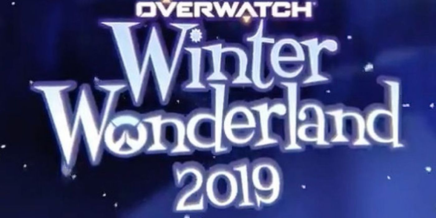 Overwatch Winter Wonderland 2019 Dates Announced