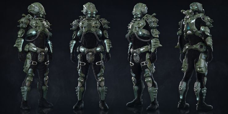 Mass Effect The 5 Best Outfits Across All Games The 5 Worst