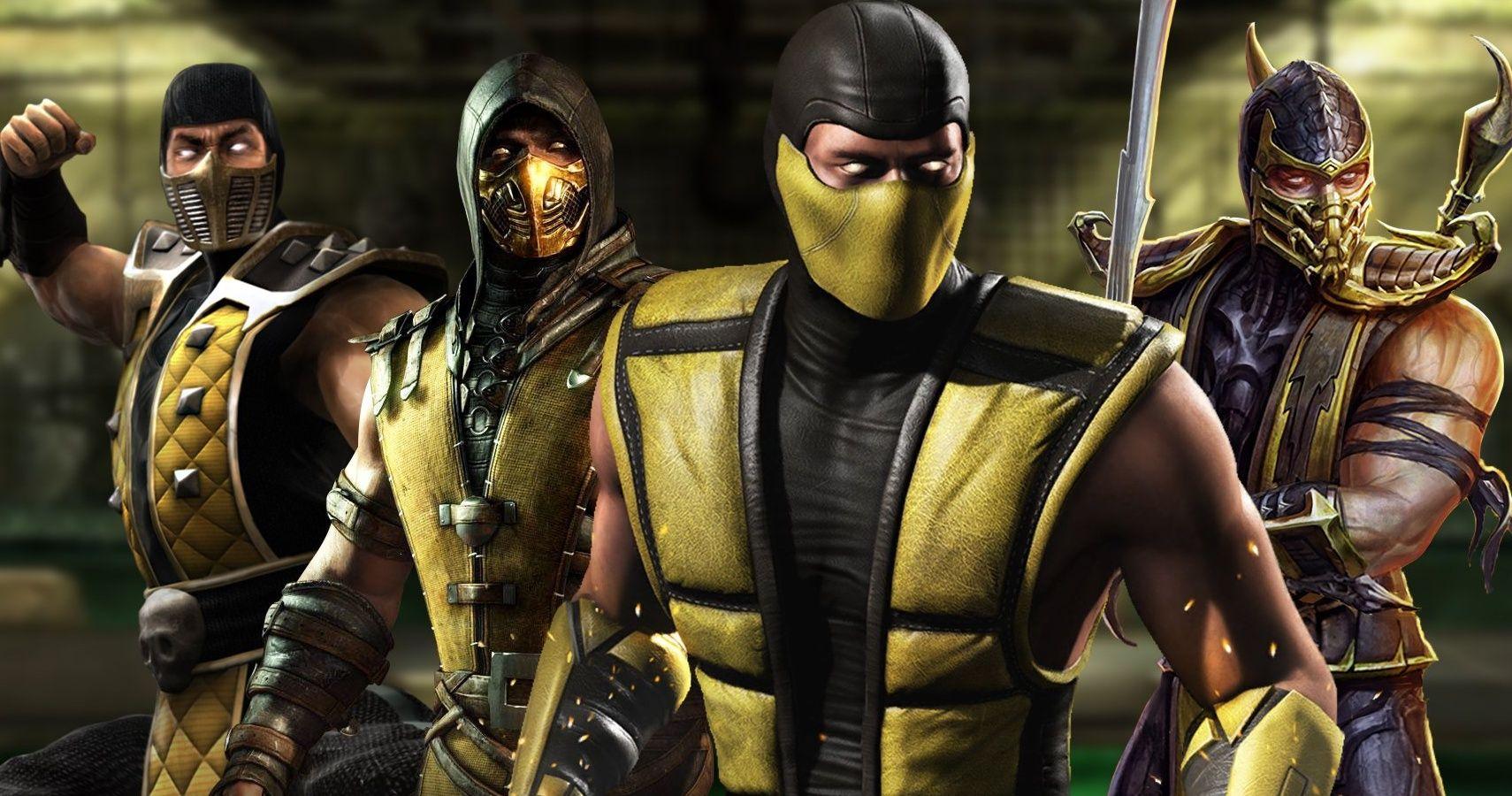 original mortal kombat characters scorpion