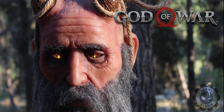god of war mimir animatronic