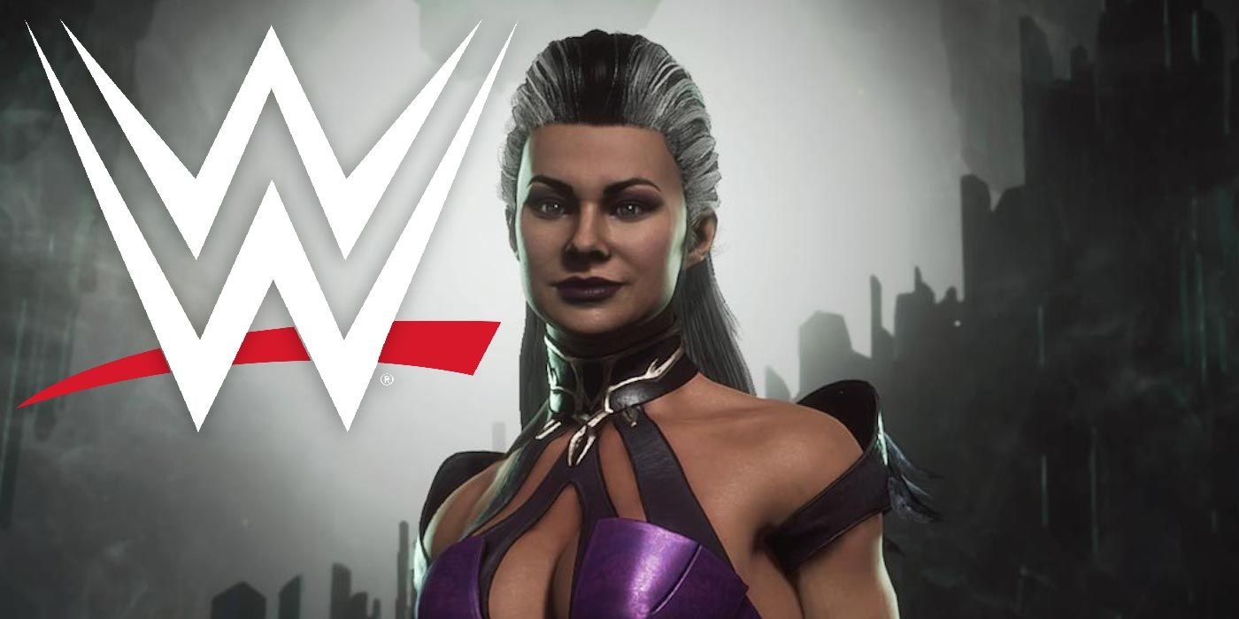 WWE's Zelina Vega Enters Royal Rumble as Sindel from Mortal Kombat