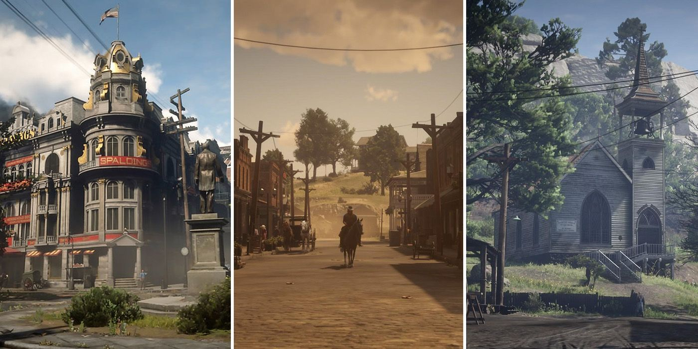 Every Town In Red Dead Redemption 2, Ranked   Game Rant