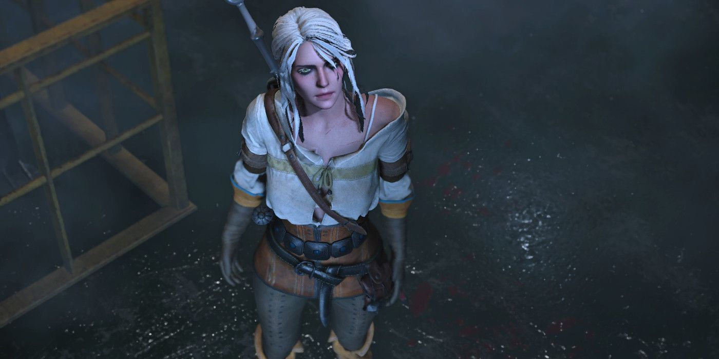 Resident Evil 2 Mod Replaces Claire with The Witcher's Ciri