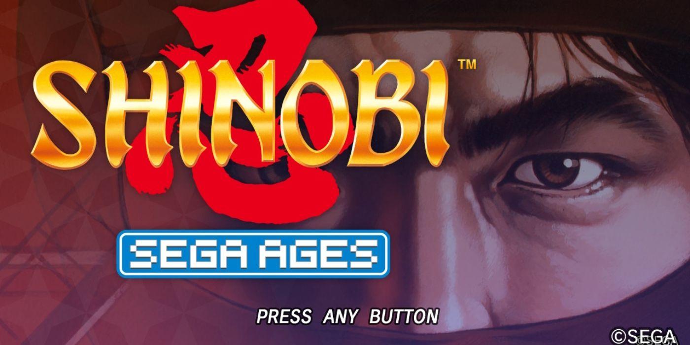 Sega Ages: Shinobi Review   Game Rant