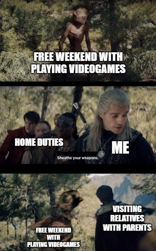 10 Best The Witcher Memes From The Netflix Series Game Rant