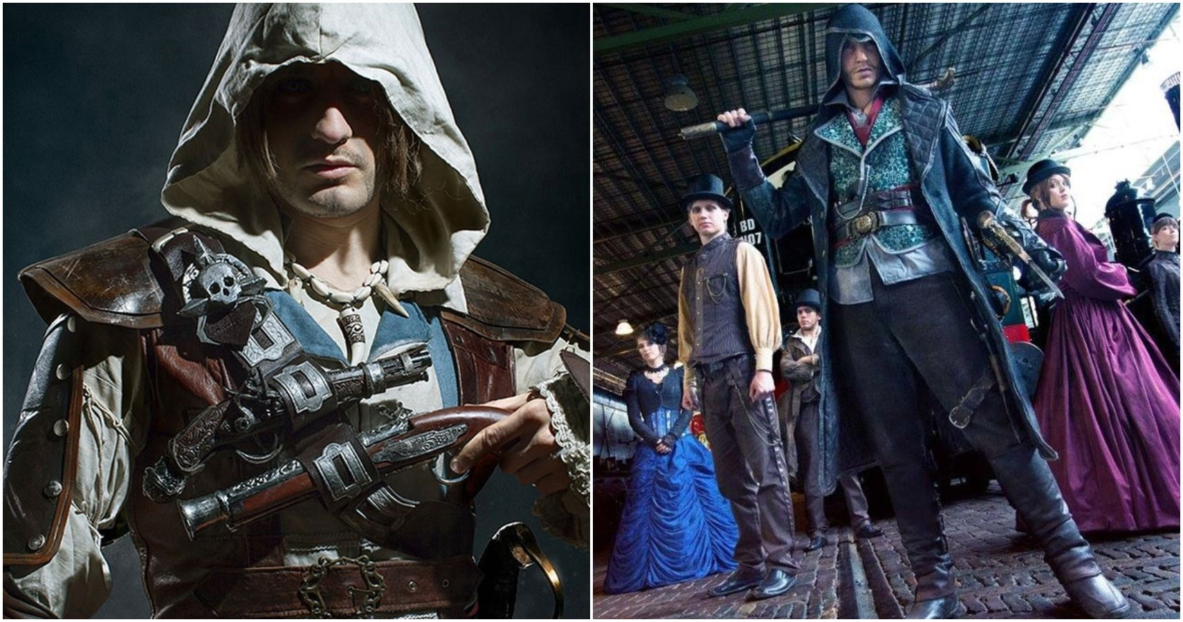 10 Best Assassin S Creed Cosplays That Look Just Like The Game