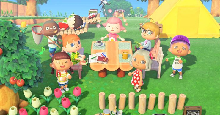 Every Animal Crossing New Horizons Villager Celebrating Their