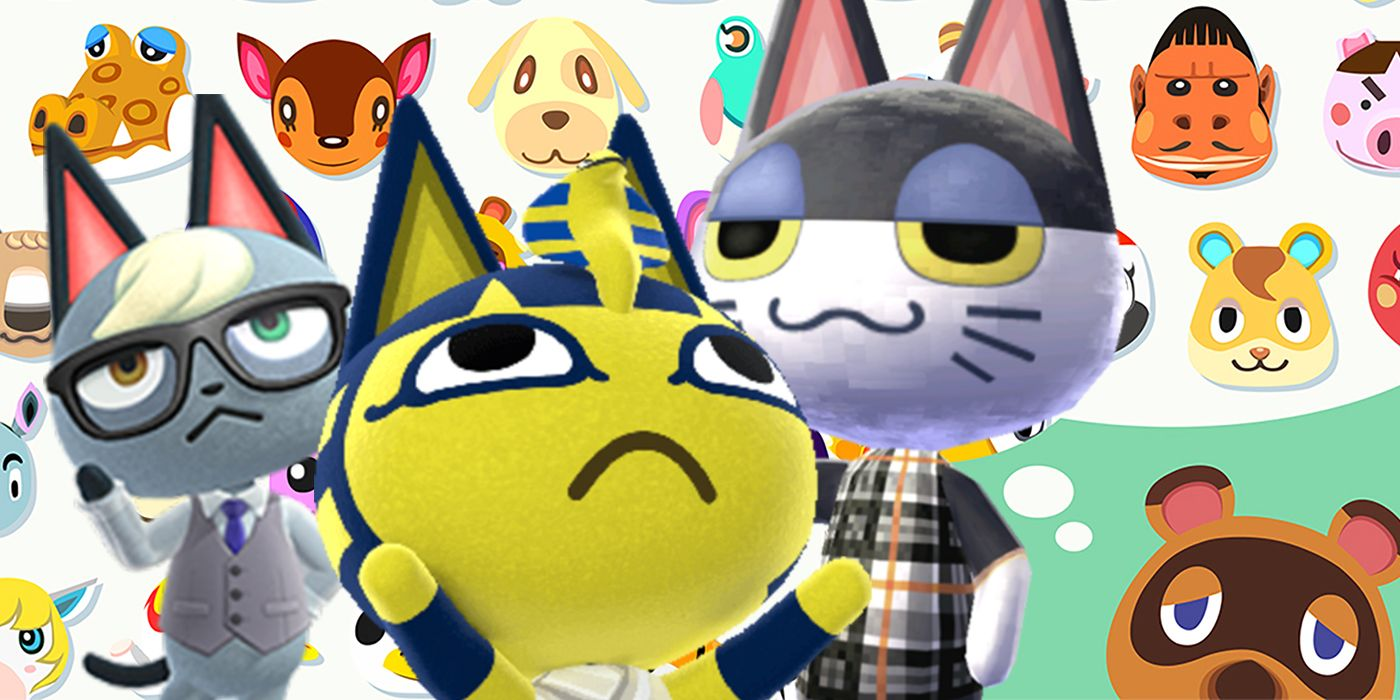 bob cat animal crossing villagers cat