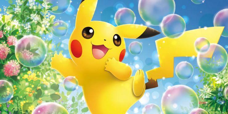Pokemon TCG Bubble Pikachu