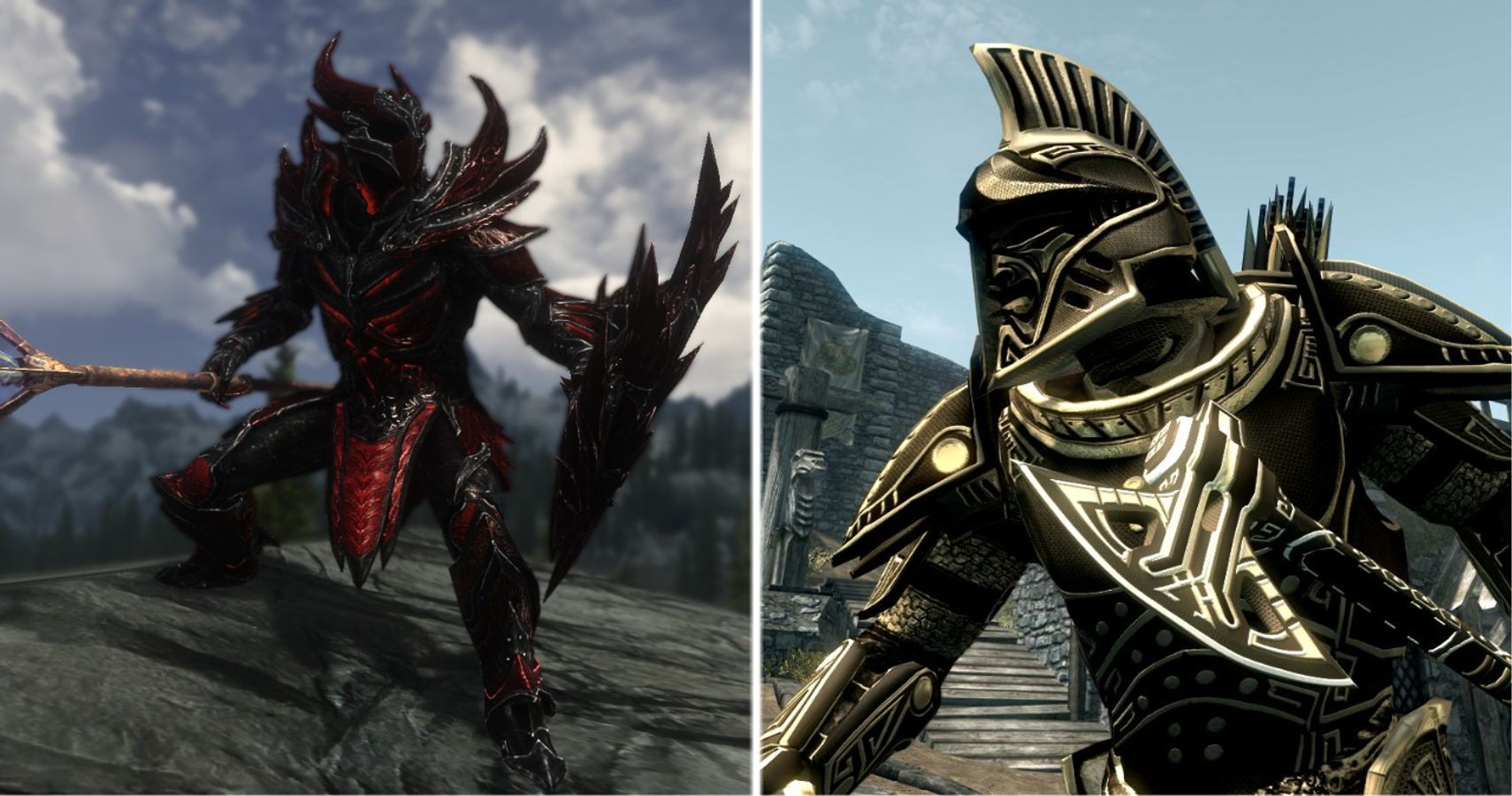 Skyrim The 10 Best Heavy Armor Sets Ranked Game Rant