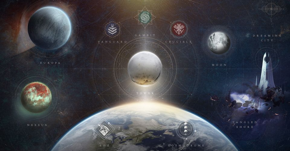 Destiny 2 Beyond Light Will Remove Five Destinations From The Director