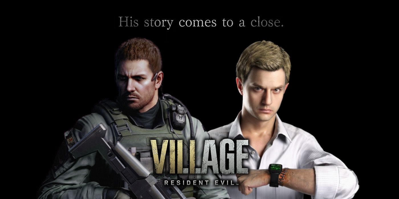 resident evil 8 chris redfield voice