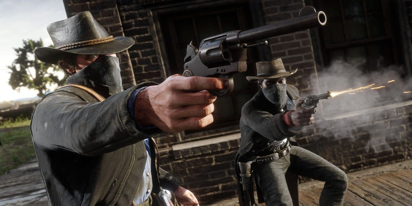 Red Dead Redemption 2 Player Ends Duel in Funny Way   Game ...
