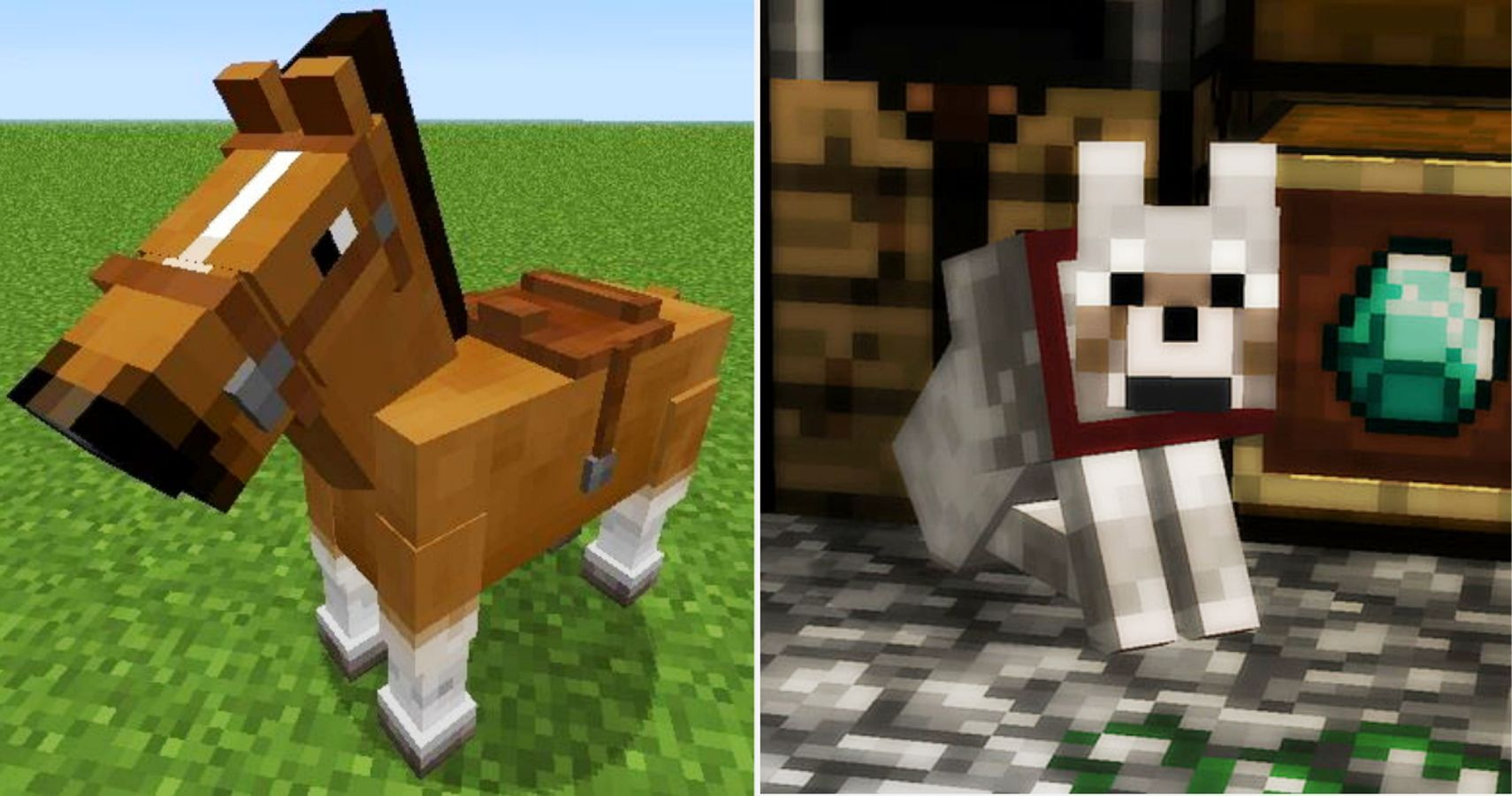 Minecraft The Best Animals To Tame How To Tame Them