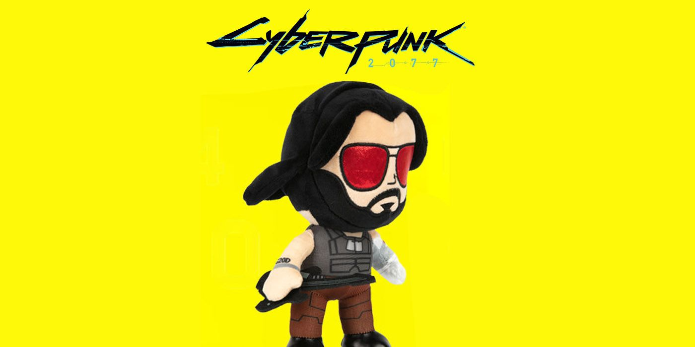 Cyberpunk 2077 Plush Collection From J!NX Announced