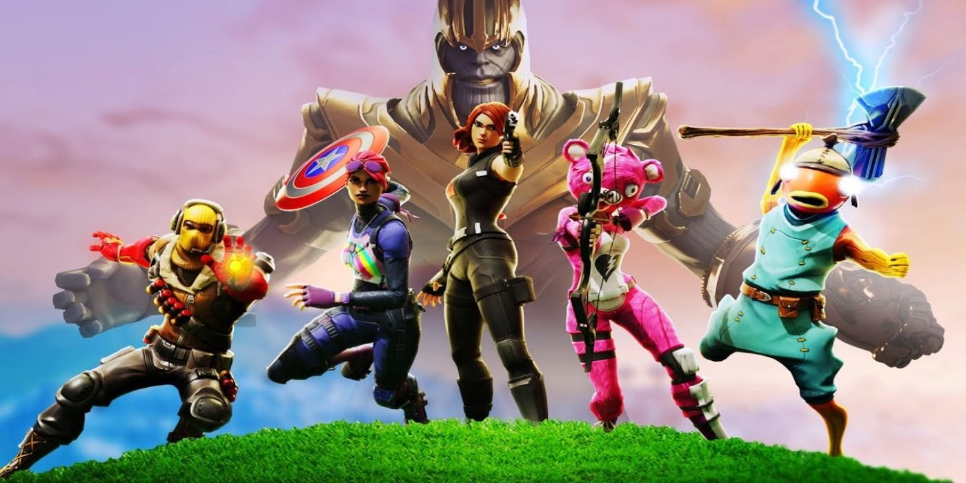 Fortnite Max Ragnarok Gameplay Fortnite May Be Getting A New Marvel Crossover Game Rant