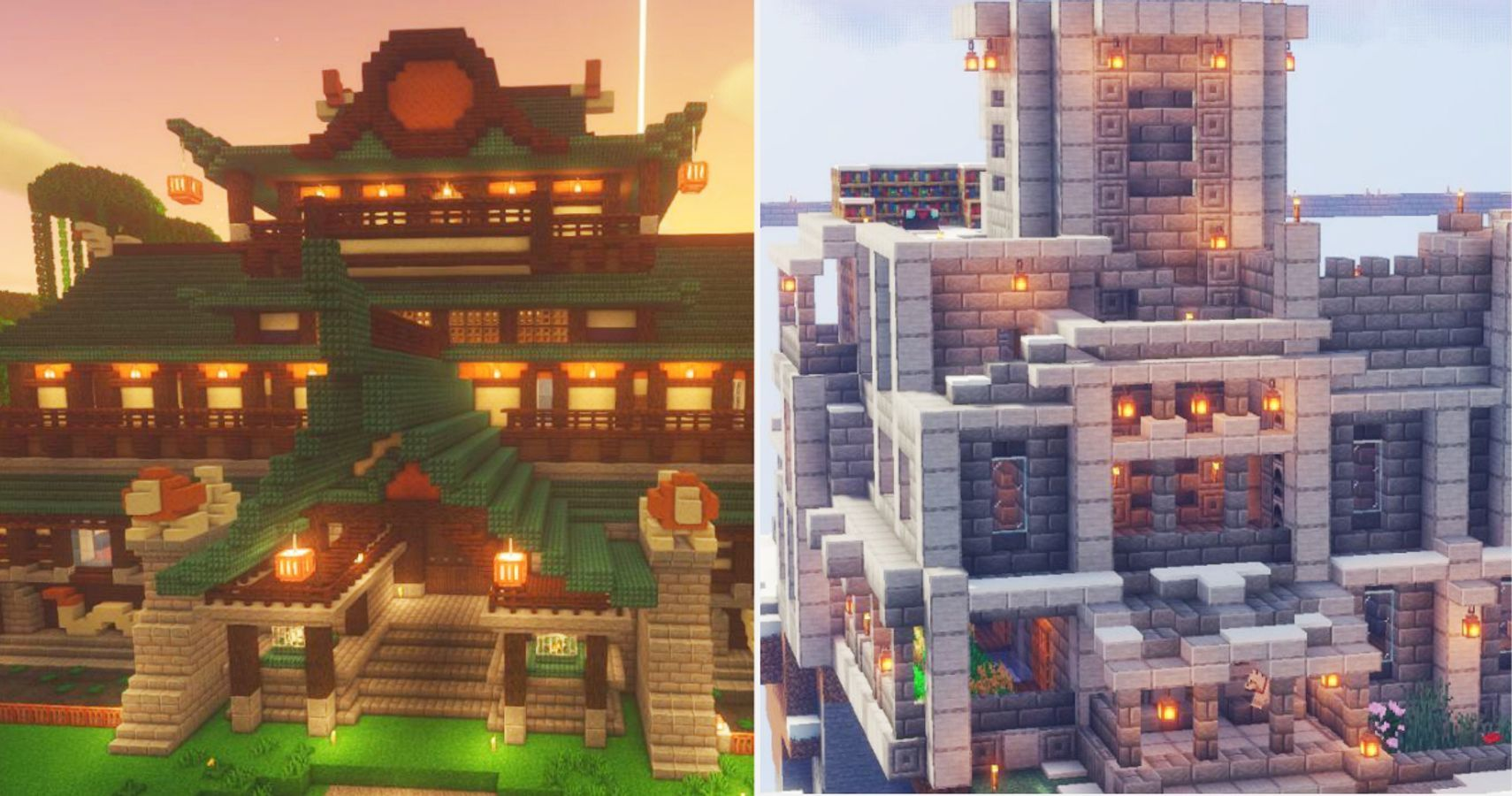 Minecraft: Huge House Ideas For Expert Builders  Game Rant