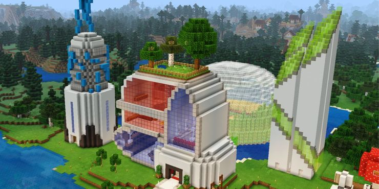 Minecraft Huge House Ideas For Expert Builders Game Rant
