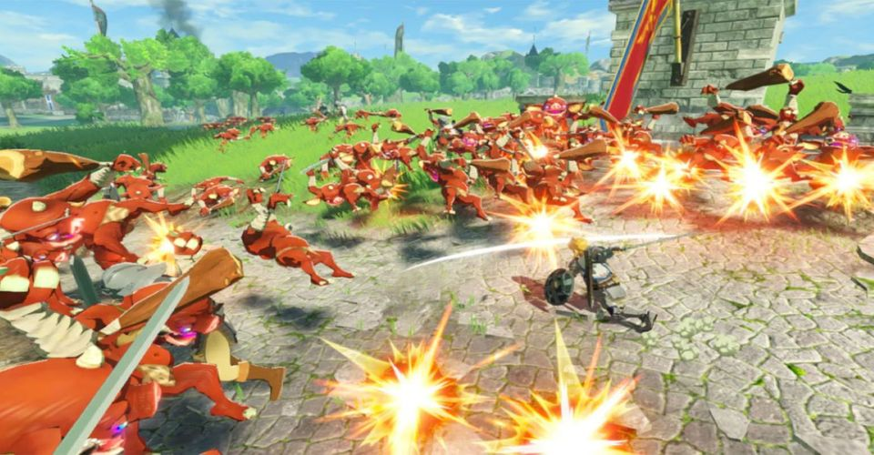 Hyrule Warriors Age Of Calamity Confirms Local Co Op Mode