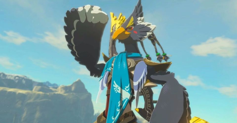 Hyrule Warriors Age Of Calamity Screenshots Show Rito Champion Revali In Action