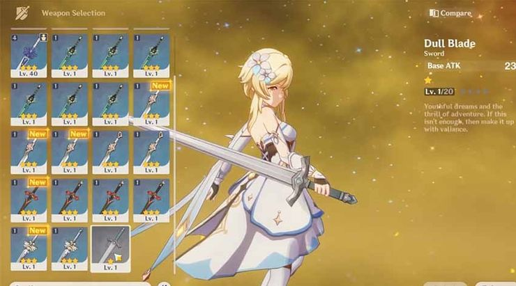 Genshin Impact Weapon Tier List Game Rant