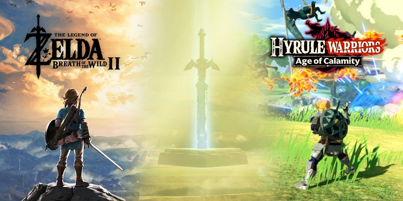 Hyrule Warriors Age Of Calamity May Have The Same Master Sword Problem As Breath Of The Wild 2