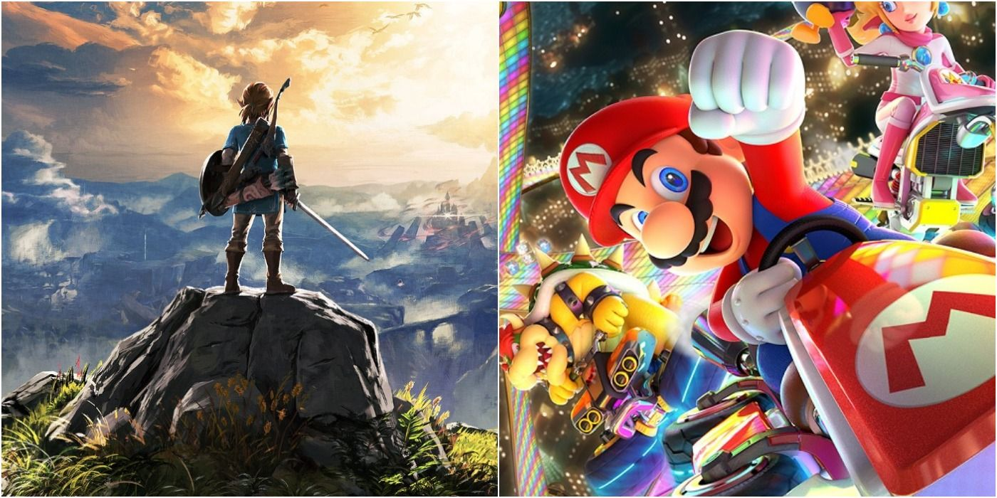 Ranking The 10 Best First-Party Nintendo Switch Games