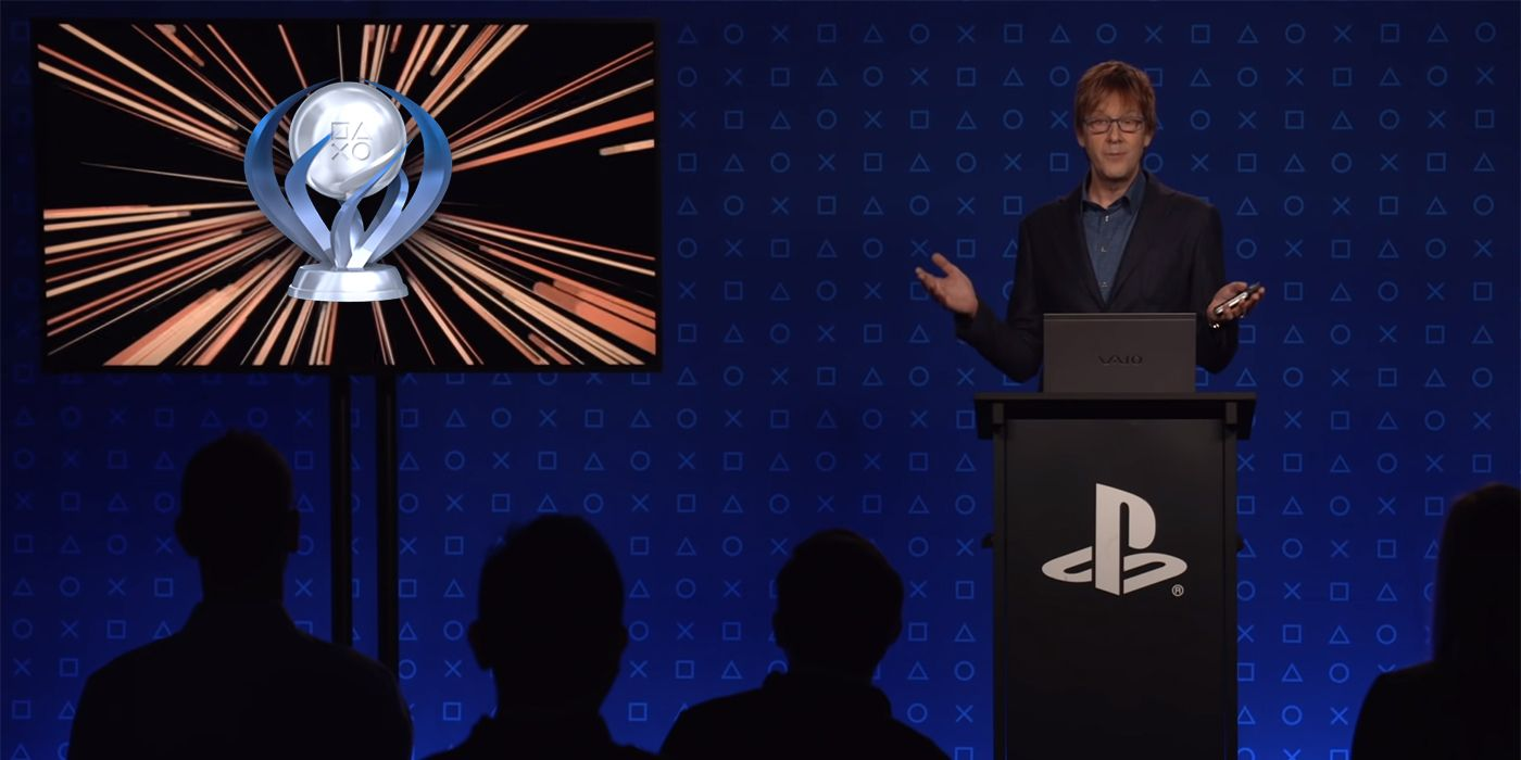 PS5 Architect Mark Cerny Shares His Final PS4 Trophy