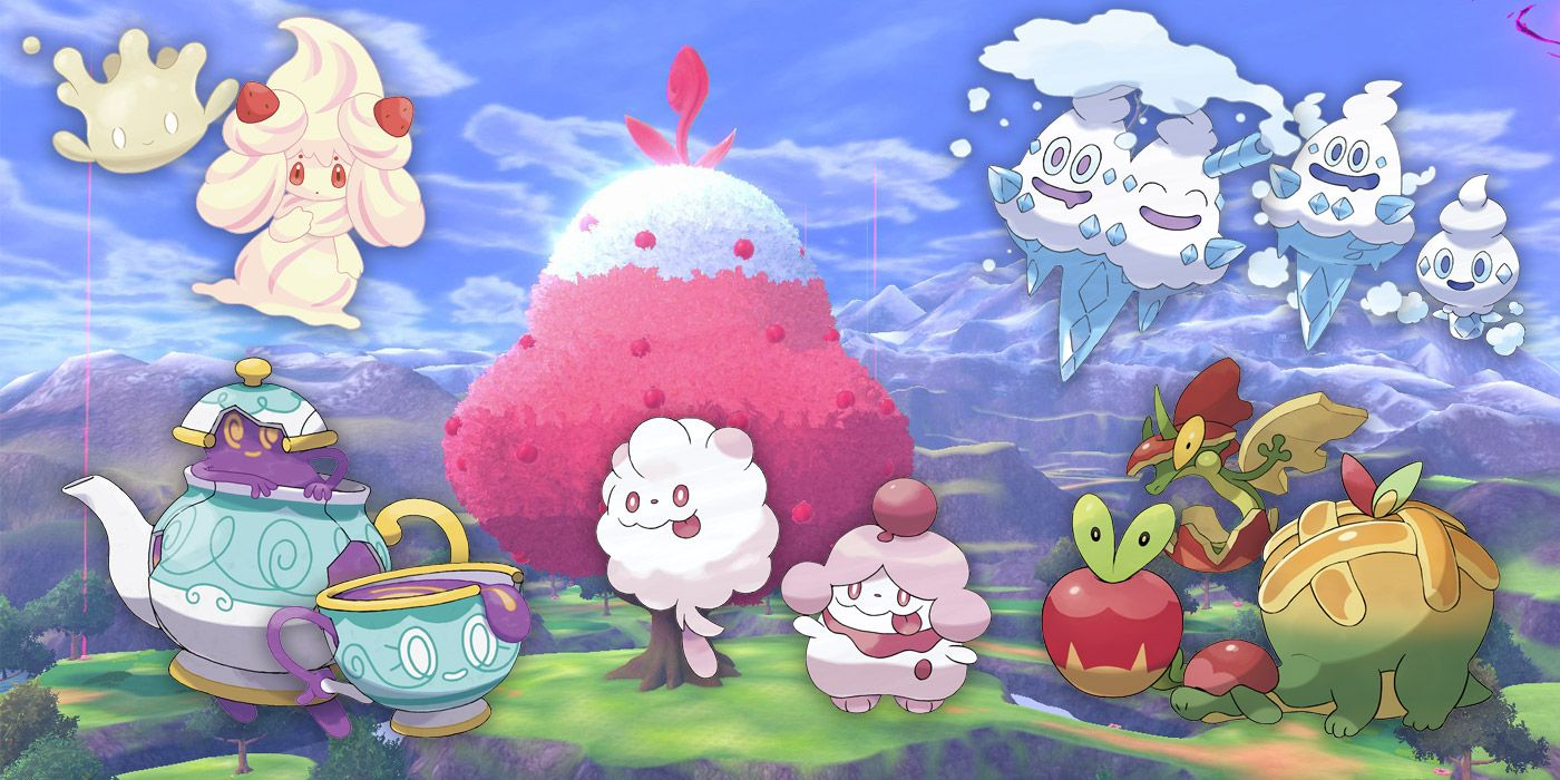 Food-Inspired Pokemon are a Delicious Addition to Your Team