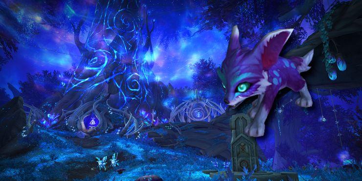 Таинственный танец колец с грибами в Shadowlands