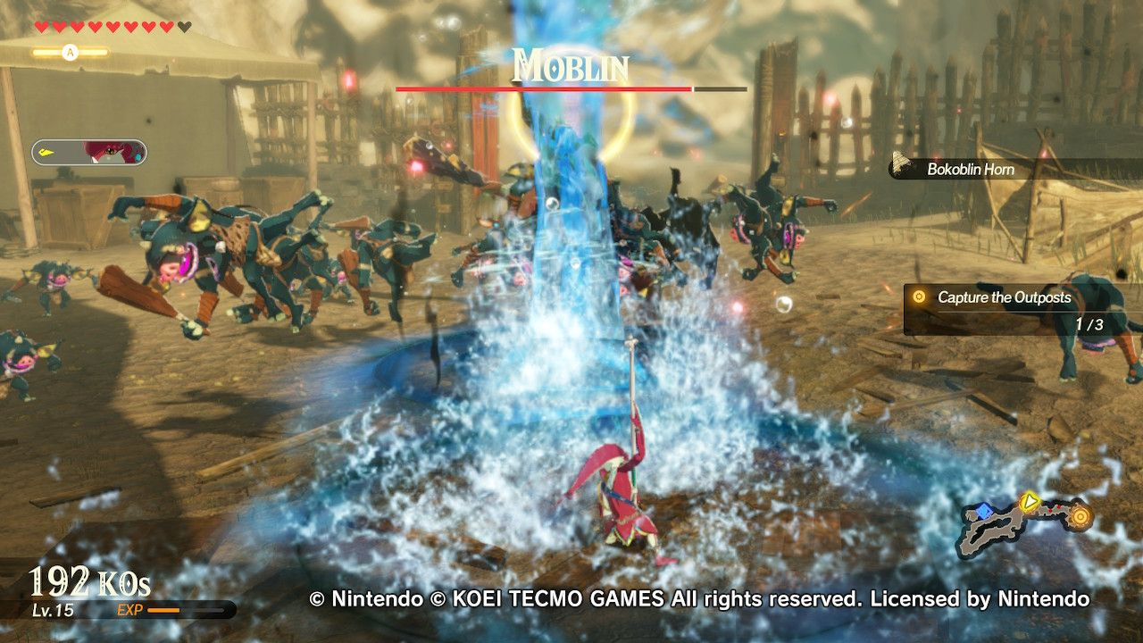 Hyrule Warriors Age Of Calamity Review Game Rant