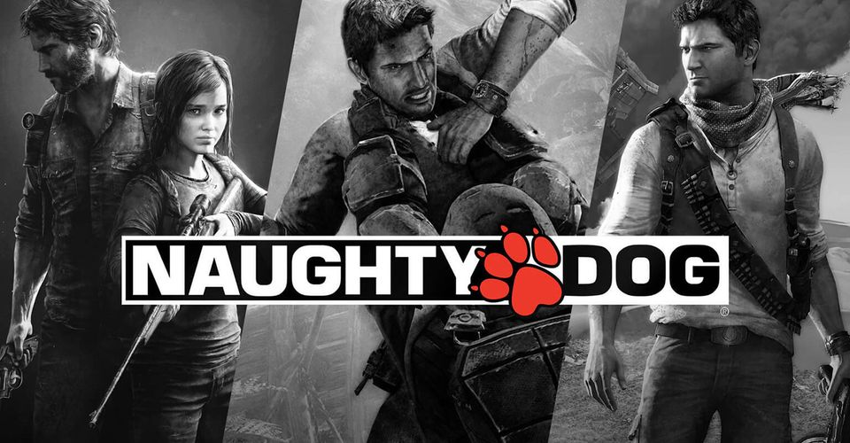 naughty dog logo games