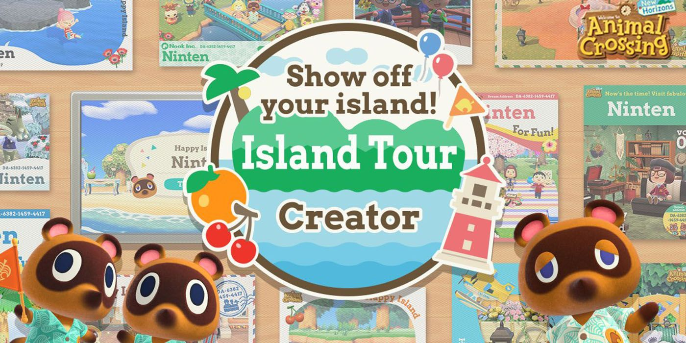 Animal Crossing: New Horizons Reveals Limited-Time Island Tour Creator Feature