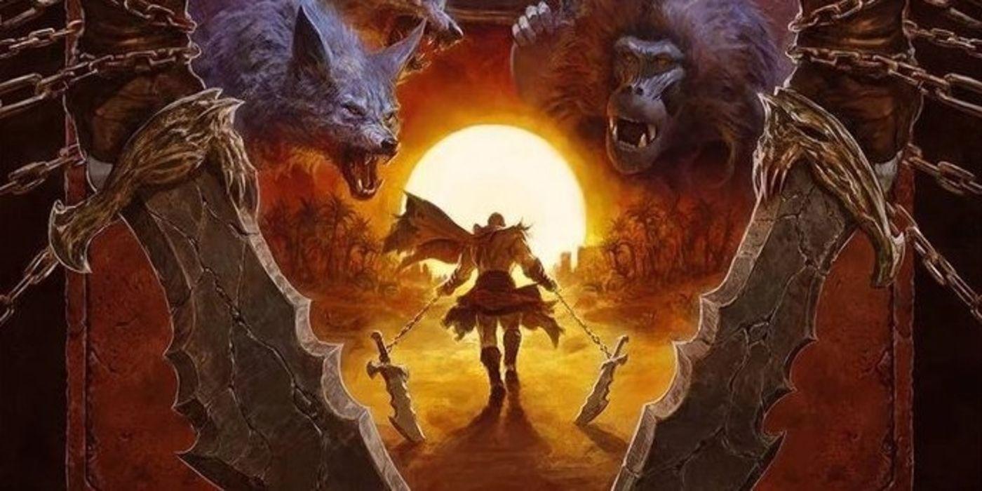 God of War: Fallen God Comic Hints at Egyptian Gods | Game Rant