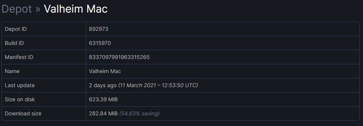 Steam Database: Valheim Is Coming to Mac Platforms