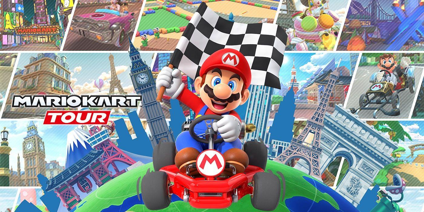 Mario Kart Tour Downloaded 200 Million Times | Game Rant