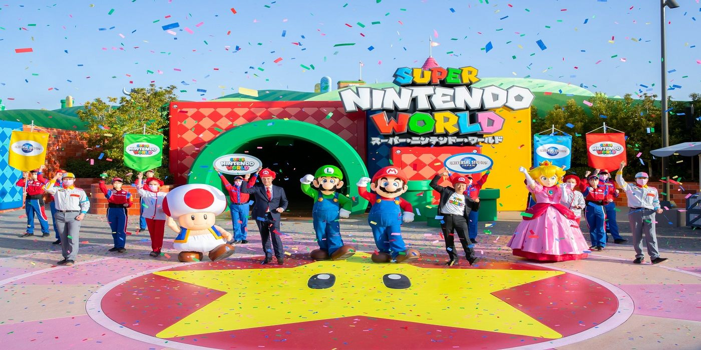Super Nintendo World May Temporarily Close Due to Coronavirus
