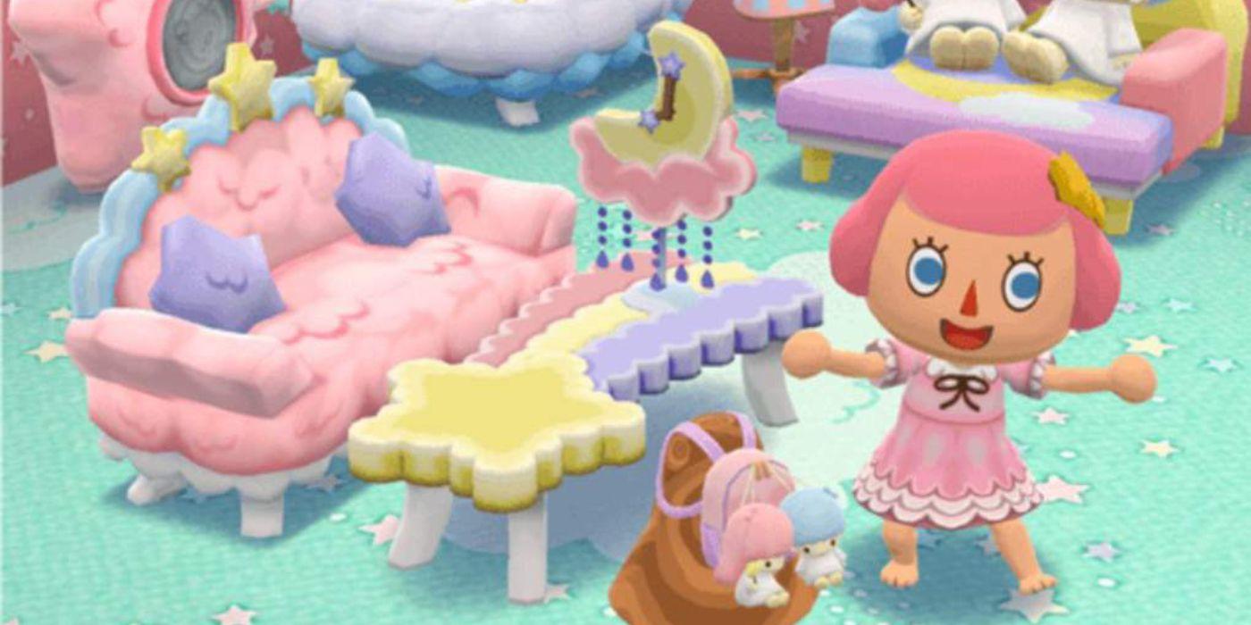 Animal Crossing: Pocket Camp Adding More Sanrio Items | Game Rant