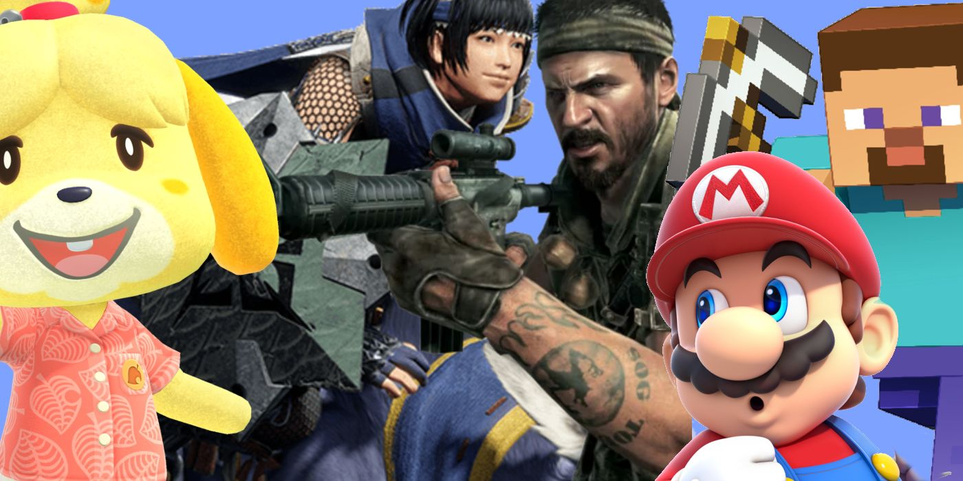 Best Selling Games of March 2021 Revealed   Game Rant