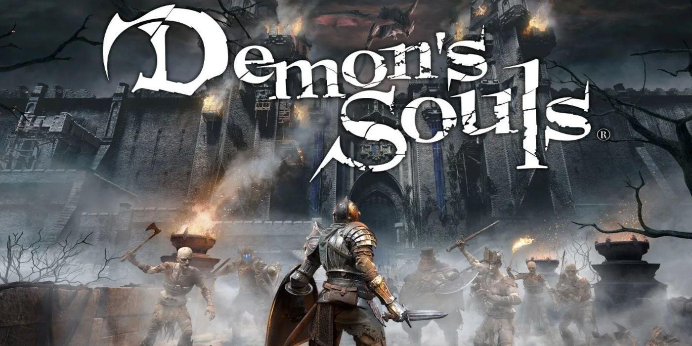Demon's Souls Animated Box Art is Impressive