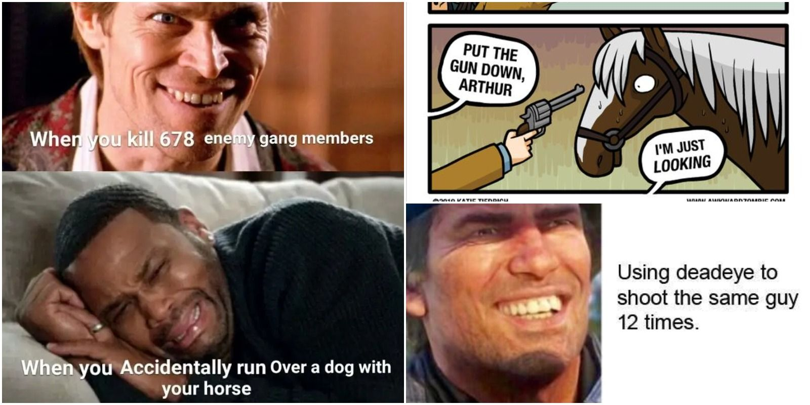 The 10 Most Hilarious Red Dead Redemption 2 Memes   Game Rant