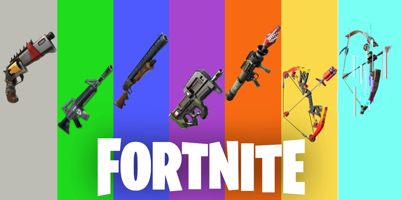 Can't Upgrade Rarity Fortnite Fortnite How To Mark Weapons Of Different Rarity For Season 6 Week 7 Challenge