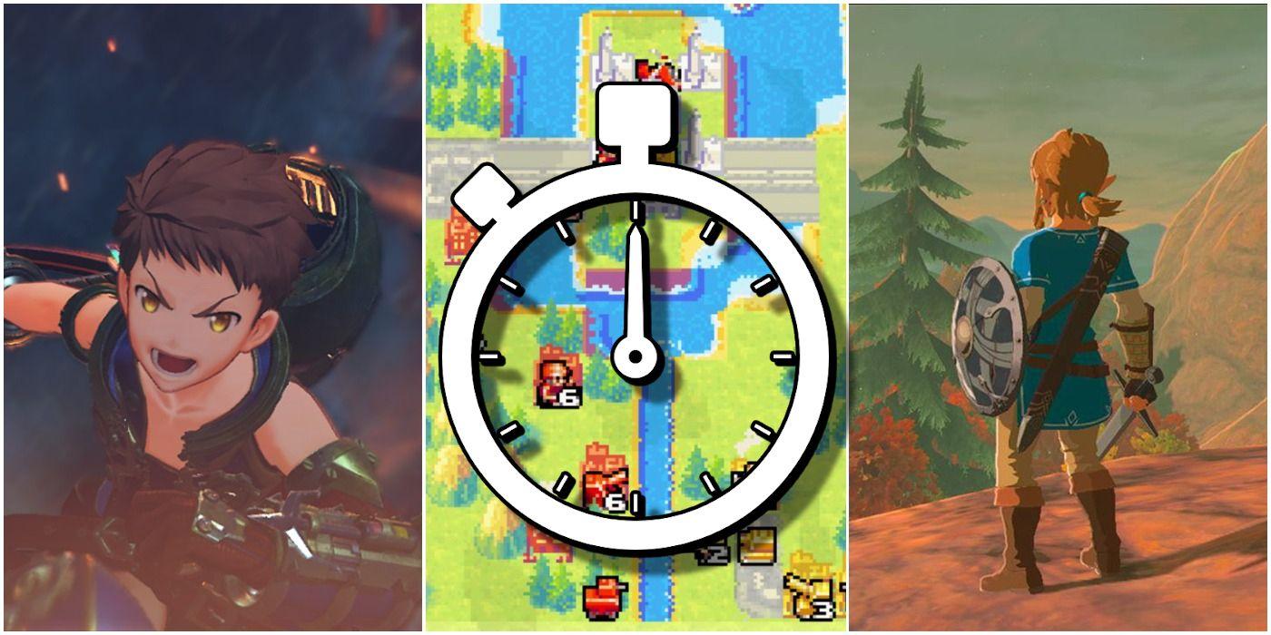 10 Longest Nintendo Games (According To HowLongToBeat)